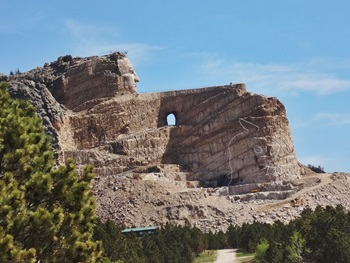 Reisen nach South Dakota - Crazy Horse Monument